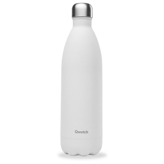 BOUTEILLE ISO BLANC MAT 1L